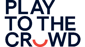 Play to the Crowd logo